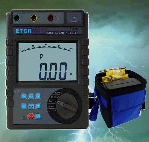 HDJD2000数字式接地电阻表
